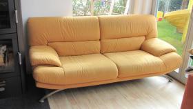 Sofa, Dreisitzer, Microfaser