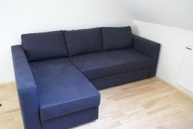 Sofa, Récamière und Bett in einem