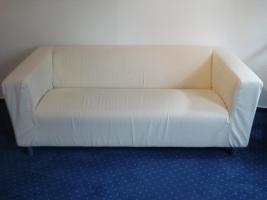 Foto 2 Sofa, Sessel, Hocker und Couchtisch (IKEA)