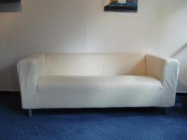 Foto 3 Sofa, Sessel, Hocker und Couchtisch (IKEA)