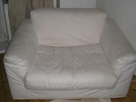 Sofa / Sessel, weiss