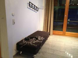 Foto 2 Sofa :: moderne Polstergarnitur in top Zustand inkl. Glastisch