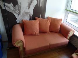 Sofa, orange