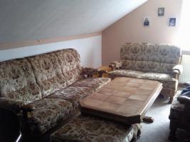 Sofagarnitur passend zu Eiche-rustikal Schrank