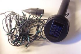 Solar-Lichterkette 100 LEDs