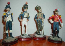 Soldaten Napoleon Plastik