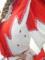 Foto 2 Solo Funkenmariechen Tanzmariechen Kostüm Gardekostüm Petticoat u Strass Gr  34 - 36 - 38 oder 40