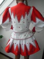 Foto 3 Solo Funkenmariechen Tanzmariechen Kostüm Gardekostüm Petticoat u Strass Gr  34 - 36 - 38 oder 40
