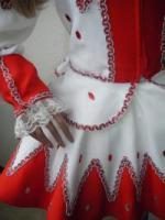Foto 4 Solo Funkenmariechen Tanzmariechen Kostüm Gardekostüm Petticoat u Strass Gr  34 - 36 - 38 oder 40