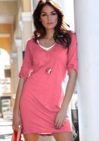 Sommer-Kleid 2-in-1 Look - Aniston - Hummer - Gr. 36 - NEU