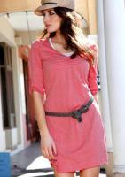 Foto 2 Sommer-Kleid 2-in-1 Look - Aniston - Hummer - Gr. 36 - NEU