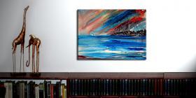 Foto 4 Sommerimpressionen Wandgemälde unikat stiller-art
