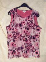 Sommerliches Shirt Gr. 42/44