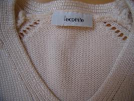 Foto 2 Sommerpullover rohweiß/natur Größe 40 von Lecomte