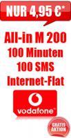 Sondernagebot !!!!   All-in M Aktion von Vodafone !!!!!!
