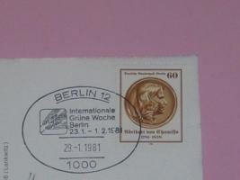 Sonderstempel Internationale Grüne Woche Berlin 1981