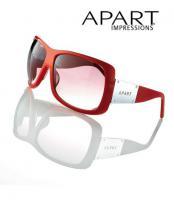Sonnenbrille rot von APART - OVP & NEU