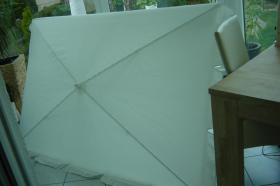 Sonnenschirm, rechteckig,180x120cm