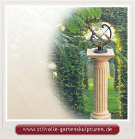 Sonnenuhr für den Garten aus Stein kaufen Sonnenuhren Gartensonnenuhren
