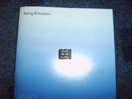 Foto 5 Sony Ericsson K550i inkl 1 GB MicroSD , Ladekabel, original Akku!