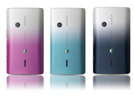 Foto 2 Sony Ericsson Xperia X8 (NEU - 1 x ausgepackt) Ohne SIMLOCK, ohne BRANDING + 4 Akkudeckel