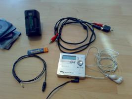 Sony MZ-R909/S MD(Mini-Disc)Recorder der Extraklasse