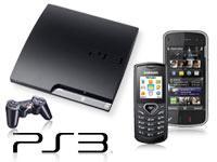 Sony PlayStation 3 Slim 120 GB+Nokia N97 transition black mit Vertrag+Samsung E1170 schwarz mit Vert