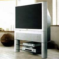 Sony Projection TV mit passenden Unterschrank