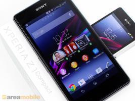 Sony Xperia Z1 compact schwarz 16GB simlockfrei