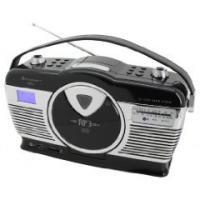 Soundmaster RCD1300 USB MW/UKW-Vertikalen CD schwarz