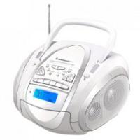 Soundmaster SCD 7700 weiß Stereo-Radio-Kassetten-Rekorder mit CD-Spieler/MP-3