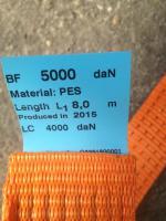 Foto 2 Spanngurt, Zurrgurt, Sicherungsgurt 1-tlg. 50mm-8m-5000daN