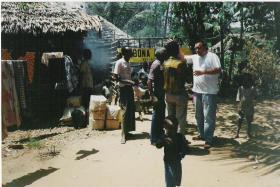 Foto 3 Spendenaufruf - Moskitonetze retten Leben