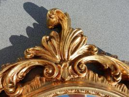 Foto 3 Spiegel mit goldfarbenem Rahmen