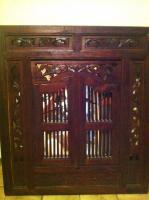 Spiegel, Holzrahmen handgearbeitet