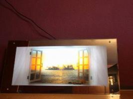 Foto 2 Spiegelleuchtbild mit Bewegungseffekt