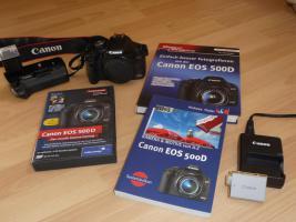 Spiegelreflex Kamera Canon Eos 500d