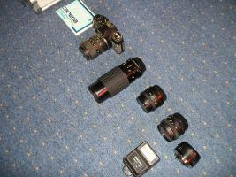 Spiegelreflexcamera CX 500
