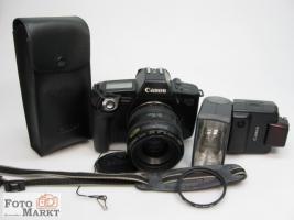 Spiegelreflexkamera Canon EOS 650+Objektiv +Blitz