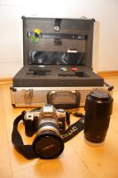 Spiegelreflexkamera SET Minolta Dynax
