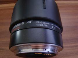 Foto 4 Spigelreflexkamera Canon EOS 1000F mit Objektiv Tamron AF 28-200mm