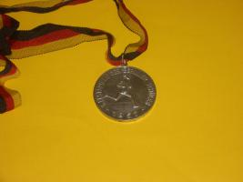 Sportmedaille am Band