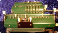 Sprossenrad Rechenmaschine - Schubert DRV 55F104