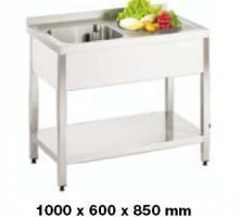 Spültisch 600 SPT1060 1 BL nur 483,79 EUR
