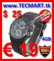 Spy Watch Cam 4GB nur € 19 - versandkostenfrei