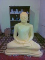 Sri Lanka Buddha Figur | Dolomit-Sandstein, Handarbeit, Dekoration, Asia, Feng Shui