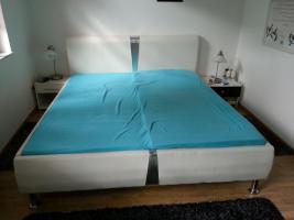 Stabiles neuwertiges Doppelbett