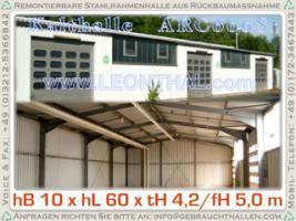 Foto 2 Stahlhalle gebraucht / Gewerbe-/ Industriehalle / Metallhalle / Gebrauchthalle