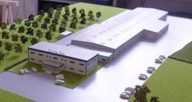 Stahlhalle, Lagerhalle, Produktiuonshalle aus Exportrückstellung (Neu und Versandfertig) Keine Demontage nötig