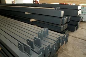 Foto 2 Stahlkonstruktion Stahlhalle Produktionshalle Gebrauchte Halle Flachdachhalle Gebrauchthalle
